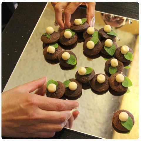 réflexion double chocolat